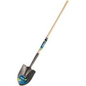 Long Handle Round Point Dirt Shovel 121.9cm