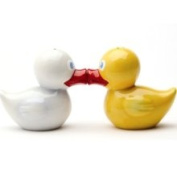 Pacific Trading Just Duckie Magnetic Salt Pepper Shakers S/P