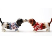 Pacific Trading Nothing But A Hound Dog Salt Pepper Shaker Set S/P