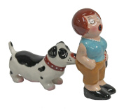 Pacific Trading A Lady A Tramp Magnetic Salt Pepper Shaker Set S/P