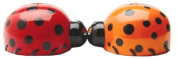 Pacific Trading Lovely Lady Bugs Magnetic Salt and Pepper Shaker Set