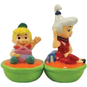Stealstreet 9.5cm Elroy and Judy Jetson Ceramic Salt and Pepper Shakers