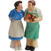 Westland Giftware The Brady Bunch Magnetic Alice and Sam Salt and Pepper Shaker Set 10.2cm