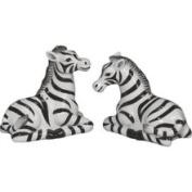 Sadek Zebra Salt Pepper Shakers