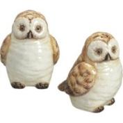 Sadek Wise Old Hoot Owls Salt Pepper Shakers Set S/P