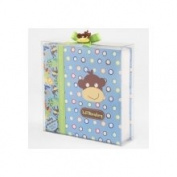 Baby Essentials Lil Monkey Photo Album - Blue