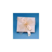 Beverly Clark 38JIT Grace 20.3cm x 20.3cm Wedding Photo Album in Ivory