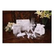 Beverly Clark 38JT Grace 20.3cm x 20.3cm Wedding Photo Album in White