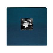 Pioneer 12x12 Albums Silk Postbound Album with Photo Window Lagoon