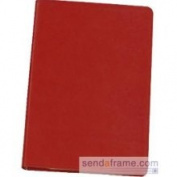 Luxe Soft Cover Red Leather 8 Journal by Graphic Image