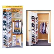 Poker 82-3054TV Shoes Away! Hanging Shoe Organizer