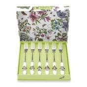 Portmeirion Botanic Garden Cutlery Pastry Forks - Set of 6 436152