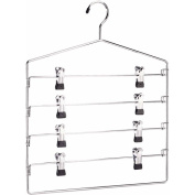 Organize It All 4 Tier Swing Arm Slack Rack With Clips 0300-B