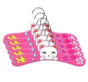 Kidorable Medium Lucky Cat Hanger Sets- 5