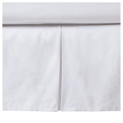 Diamond Grey and White Toddler Bed Skirt by JoJo Designs