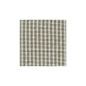 Patch Magic Brown White Plaid Fabric Dust Ruffle King
