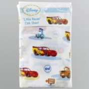 Crown Crafts Infant Products, Inc. Disney Cars Little Racer Crib Sheet