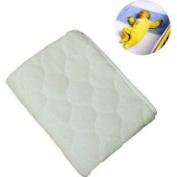 NoJo Coral Fleece Sheet Saver - Ivory