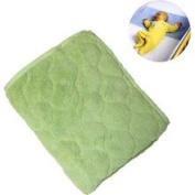 NoJo Coral Fleece Sheet Saver - Sage
