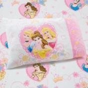 Princess Disney Castle Dreams 2-Piece Toddler Sheet Set - Pink/Yellow