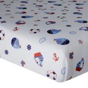 Lambs & Ivy Bedtime Originals Sail Away Crib Sheet