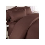 Jessica Sanders Soft Touch As 1200 Thread Count 6pc. Sheet Set King Chocolate. BOUNES 2 Pillowcases