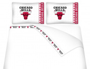 Sports Coverage Chicago Bulls Micro Fibre Sheet Set - Full