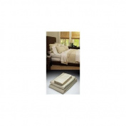 Home Source International 51500QNO05 - Bamboo Queen Fitted Sheet Hemp 100% Bamboo Colour
