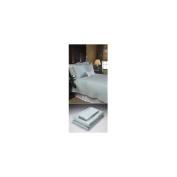 Home Source International 50500QNB05 - Bamboo Queen Flat Sheet Sky 100% Bamboo Colour