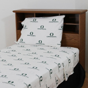 College Covers OREBBKG Oregon Bed in a Bag King- With Team Colored Sheets