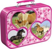 Jigsaw Puzzle Box - Horses