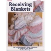 Leisure Arts Receiving Blankets