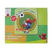 Sesame Street Elmo Blanket - Plush Baby Blanket