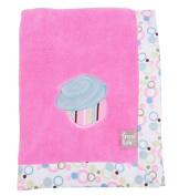 Trend-Lab 102070 Frame Cupcake Receiving Blanket