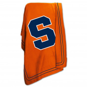 Logo Chair Syracuse Orange Classic Polyester Fleece Throw Blanket