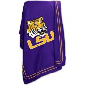 Logo Chair NCAA LSU 130cm x 150cm Classic Fleece Throw