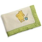 NoJo My Friend Pooh Fleece Blanket