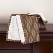 CoCaLo Pewter Sherpa Blanket Pewter Decor