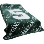 College Covers Michigan State Spartans Throw Blanket or Bedspread