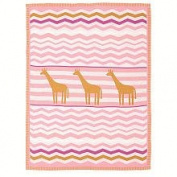 Living Textiles Lolli Living Blanket - Giraffe