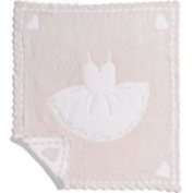 Barefoot Dreams Scallop Cozychic Baby Receiving Blanket