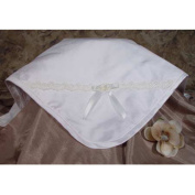 Little Things Mean A Lot 3dpgbk2 Silk Dupioni Blanket with Venise Trim