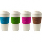 Cool Gear 1132 500ml ECO2 Go Mug with Assorted Colour Bands