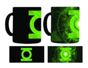 NECA Green Lantern Colour Change Thermal Mug