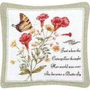 Alice's Cottage Yellow Swallowtail Single Mug Mat - ACS11408