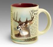 American Expedition Wildlife 530ml Ceramic Mug Whitetail Deer 440ml