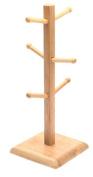 Norpro Wood Mug Rack - 294117