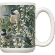 Fiddlers Elbow FEC240 Springtime Jewel Chickadee 440ml Mug