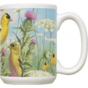 Fiddlers Elbow FEC311 Goldfinches 440ml Mug