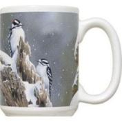 Fiddlers Elbow FEC650 Downy Woodpecker 440ml Mug
